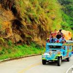Plně naložený jeepney