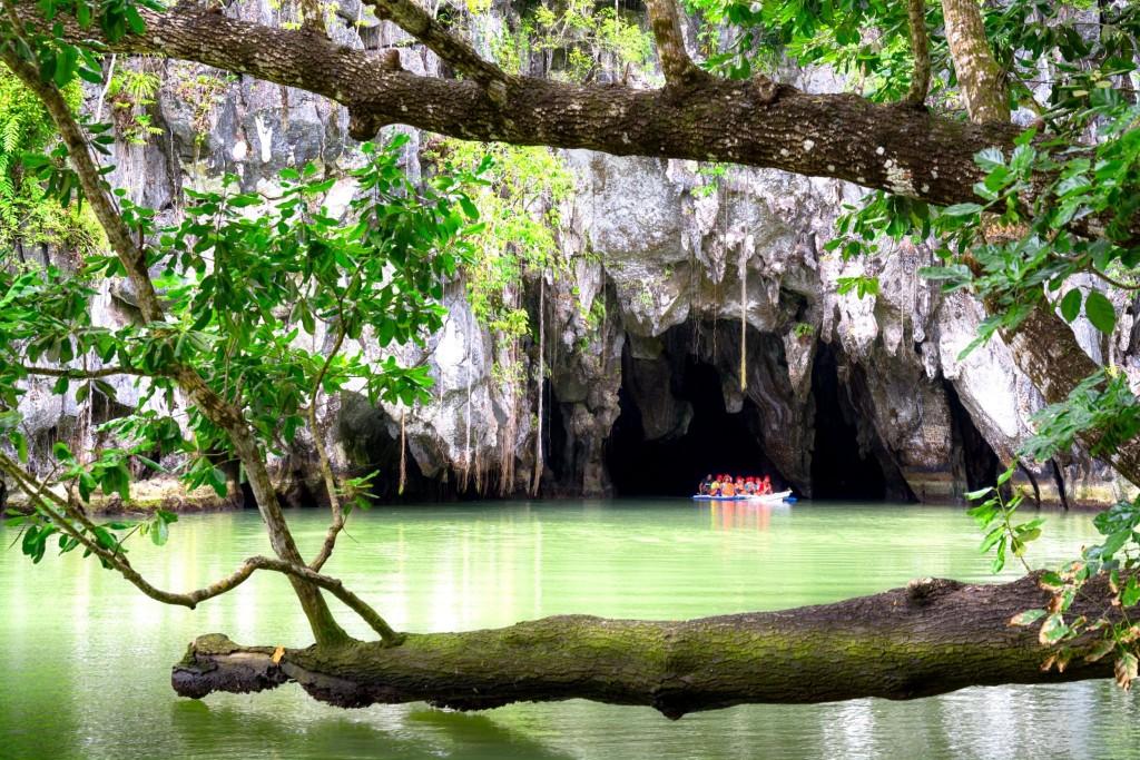 Podzemní řeka u Puerto Princessa