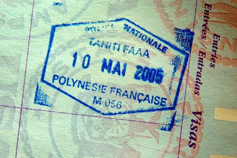 Vízum do Francouzské Polynésie, celní informace