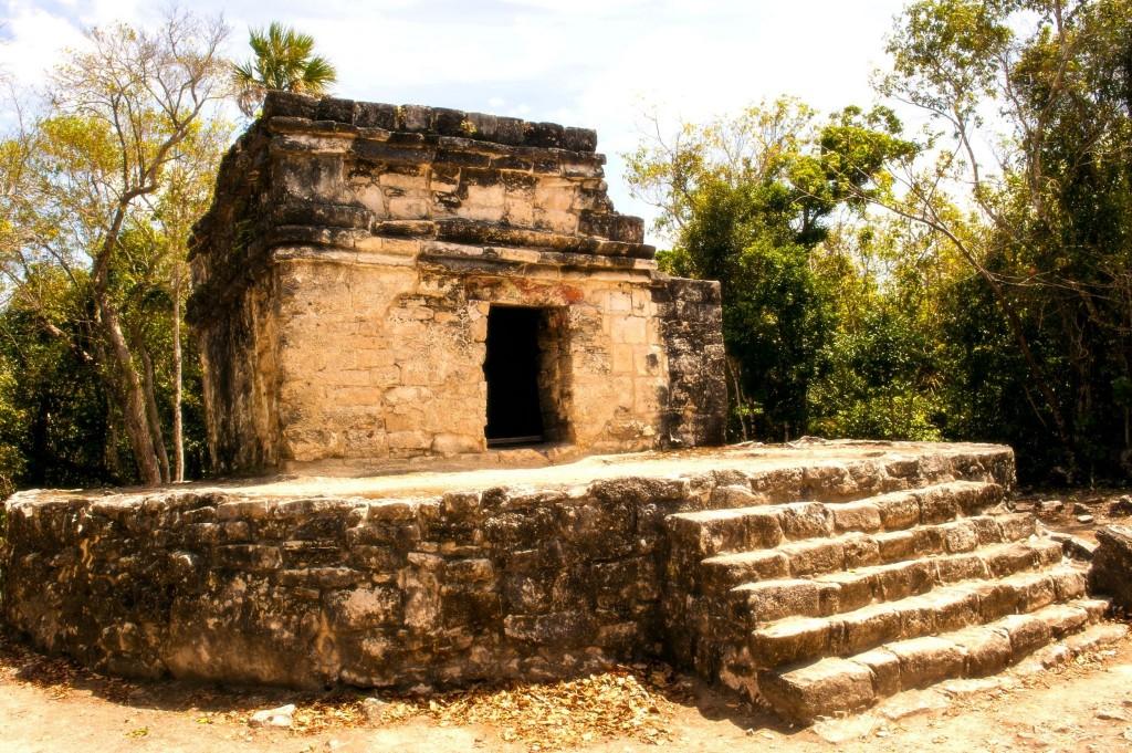 San Gervasio na ostrově Cozumel