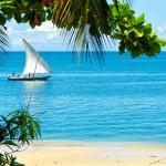Tradiční zanzibarská plachetnice dhow