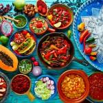 Typické mexické suroviny