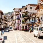 Ulice města Taxco de Alarcón