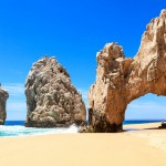 Útesy Los Arcos u Cabo San Lucas
