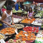 Ve filipínské tržnici