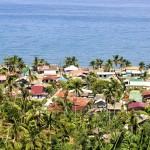 Vesnice Melgar na ostrově Mindoro