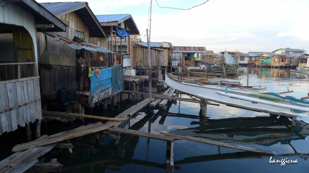 Vesnice Rio Hondo na kůlech