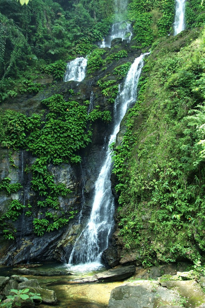 Vodopád Tamaraw na ostrově Mindoro