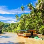 Vyhlídková loď na nádherné tropické řece Loboc