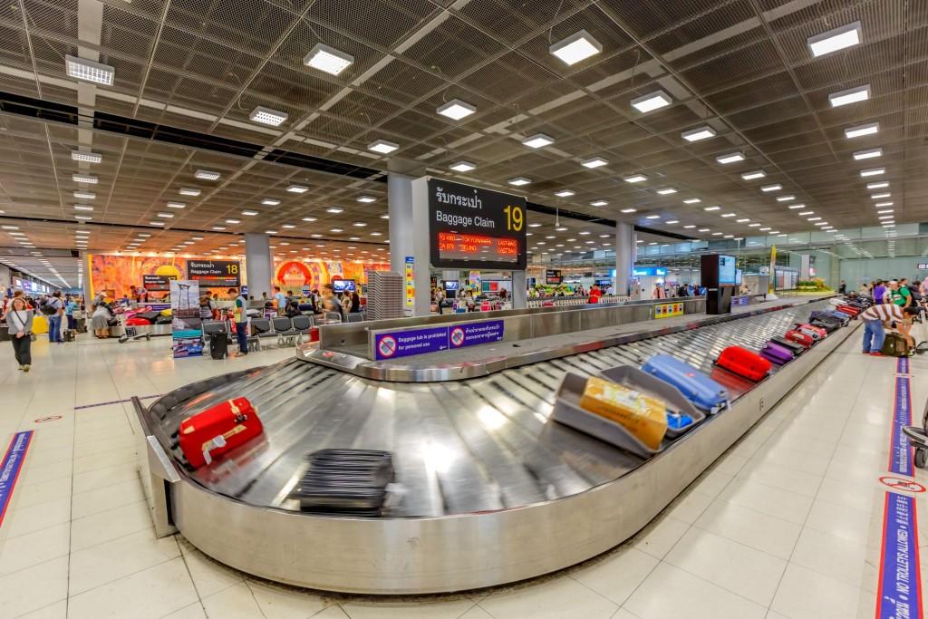 Vyzvednutí zavazadel - baggage claim