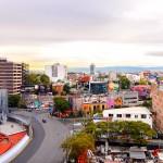 Zona Rosa v Mexico City