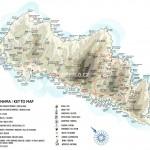 Mapa Andros
