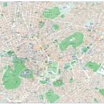 Mapa Athény
