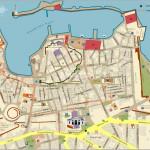 Mapa Kréta - Chania