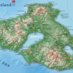 Mapa Lesbos