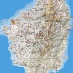 Mapa Naxos