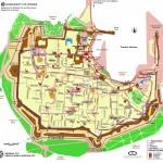 Mapa Rhodos - Rhodos town