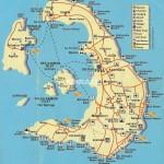 Mapa Santorini (Thira)