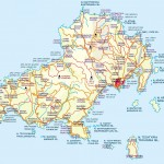Mapa Skiathos