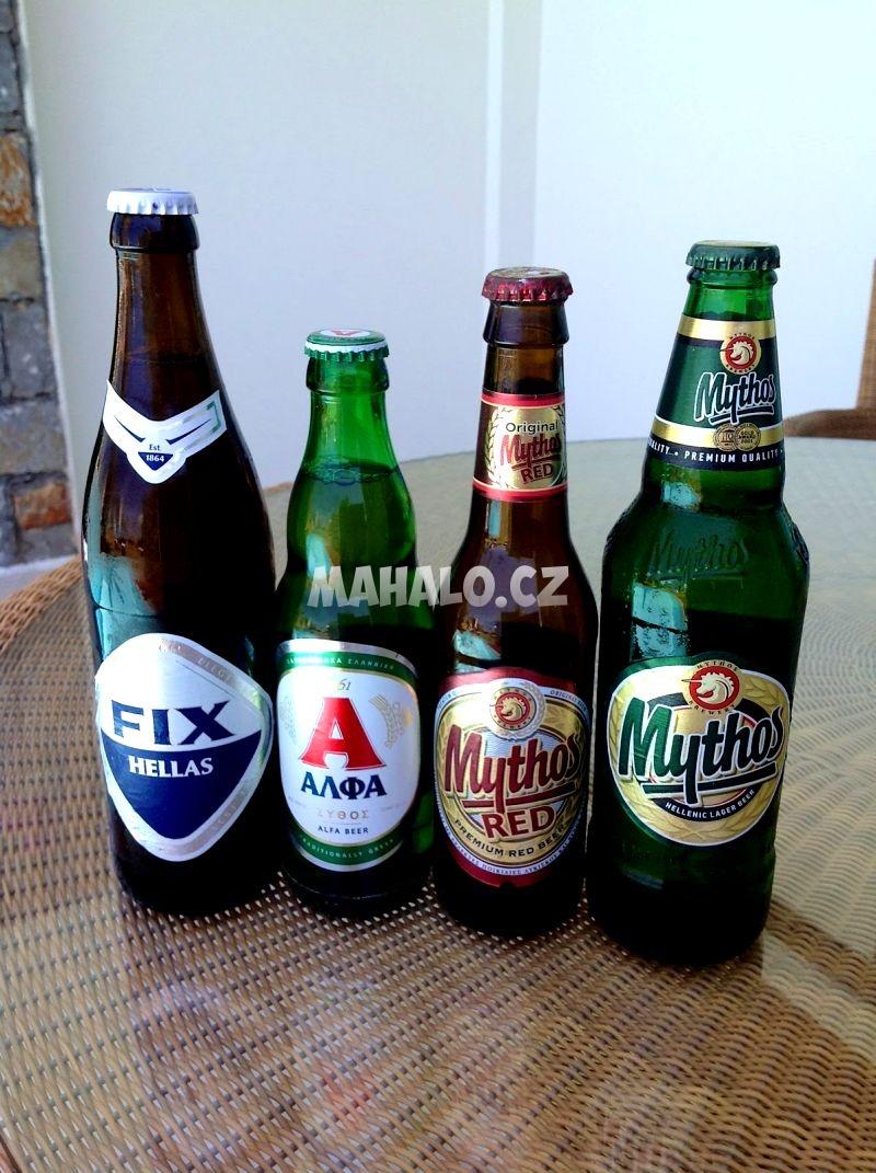 Řecká piva
