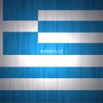 Vlajka Řecka - detailní