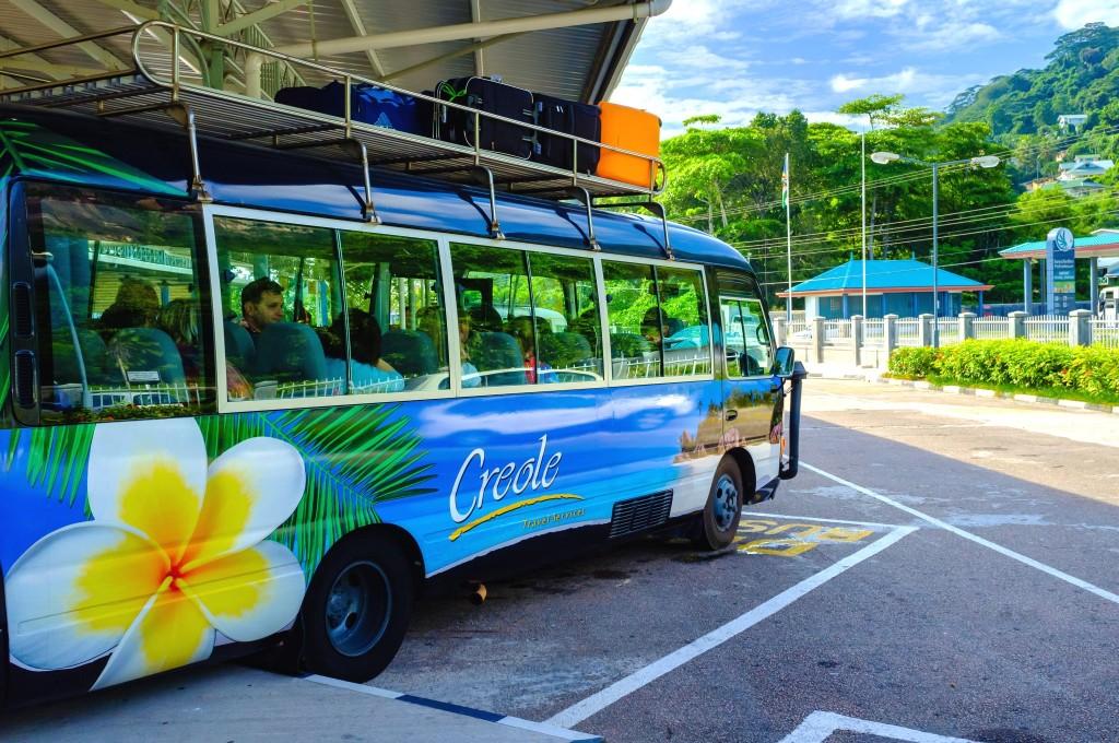 Autobus na Seychelách