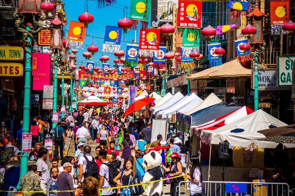 Chinatown - nejstarší čínská čtvrť v USA