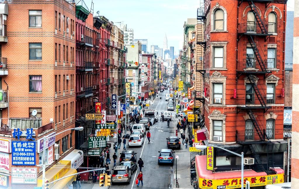 Chinatown v New Yorku