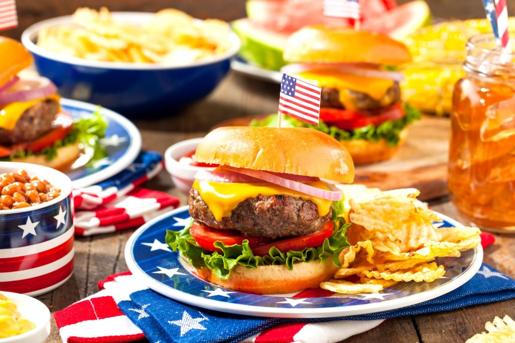 Hamburgery, základ americké kuchyně