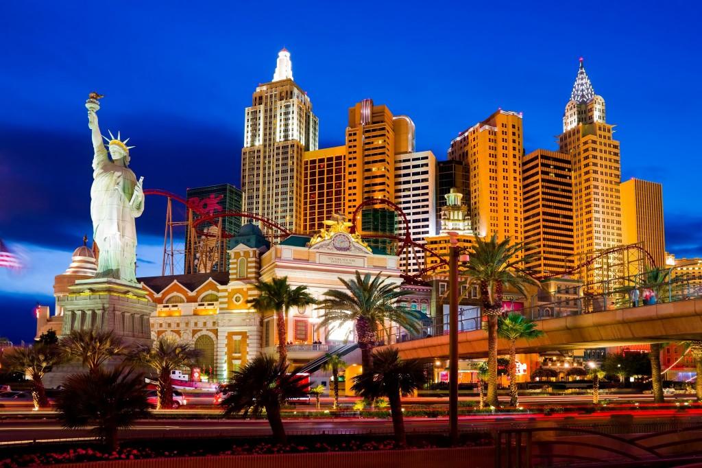 Hotel a kasíno New York New York v Las Vegas