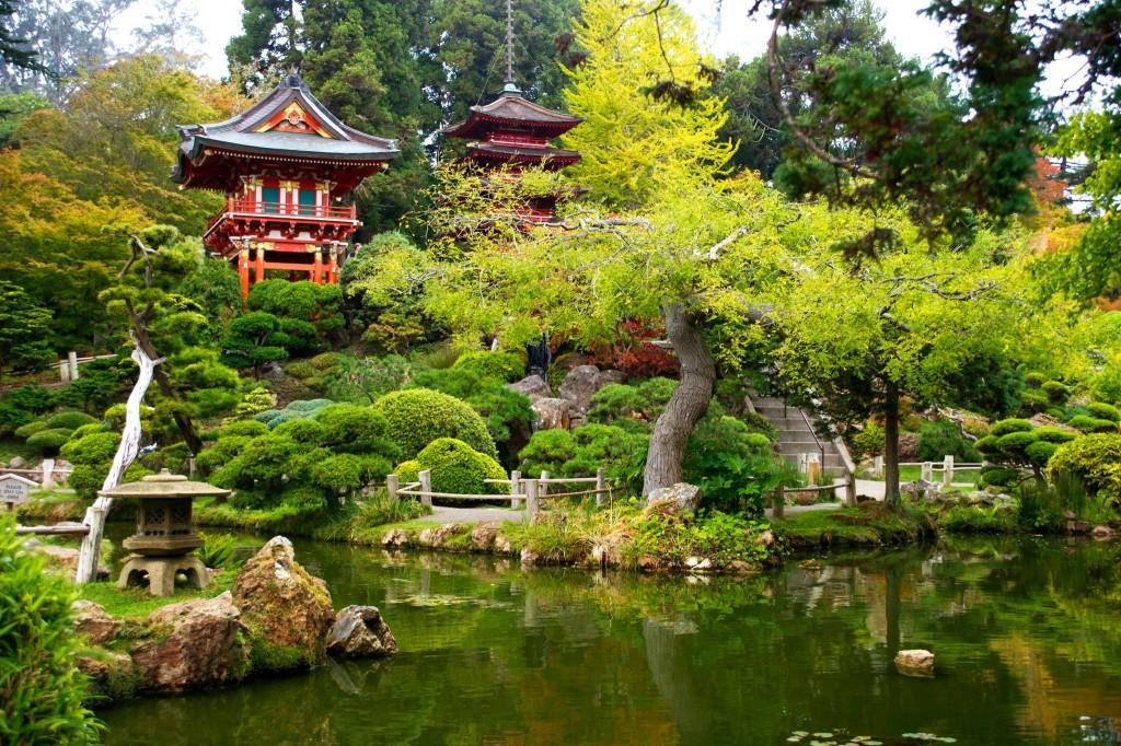 Japonské čajové zahrady v Golden Gate park