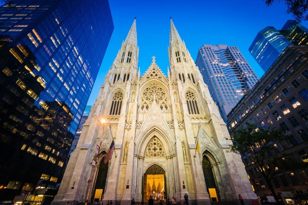 Katedrála svatého Patrika na Manhattanu