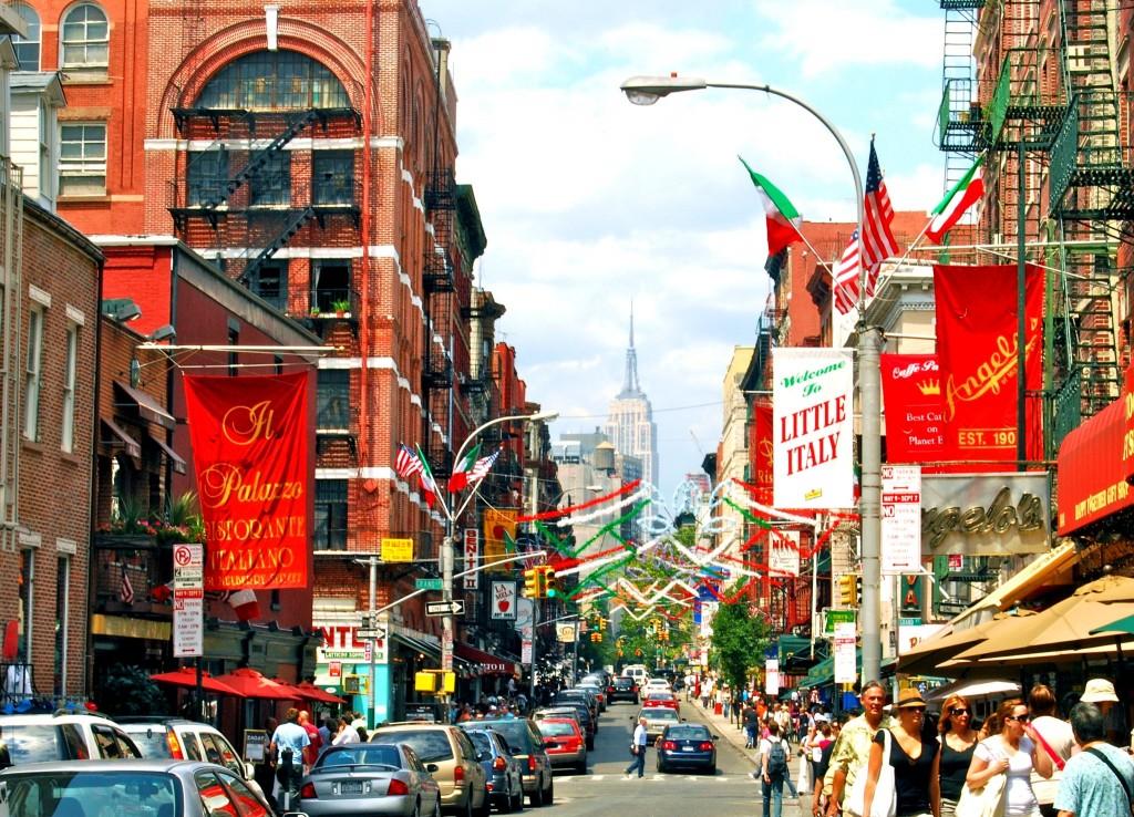 Little Italy - malá Itálie v New Yorku