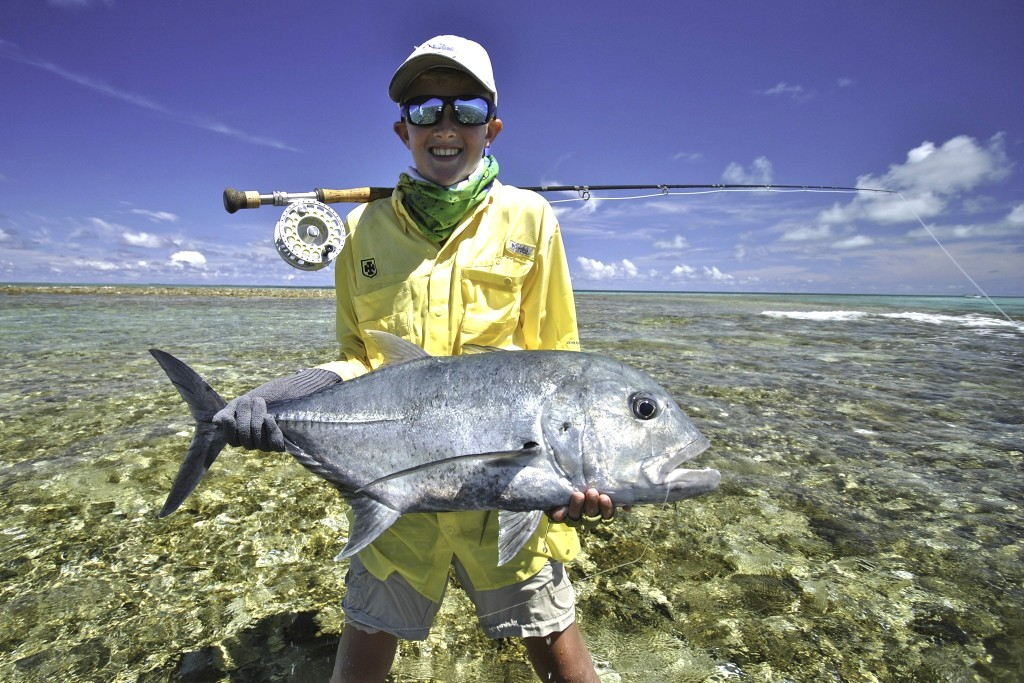 Rybaření na atolu Cosmoledo