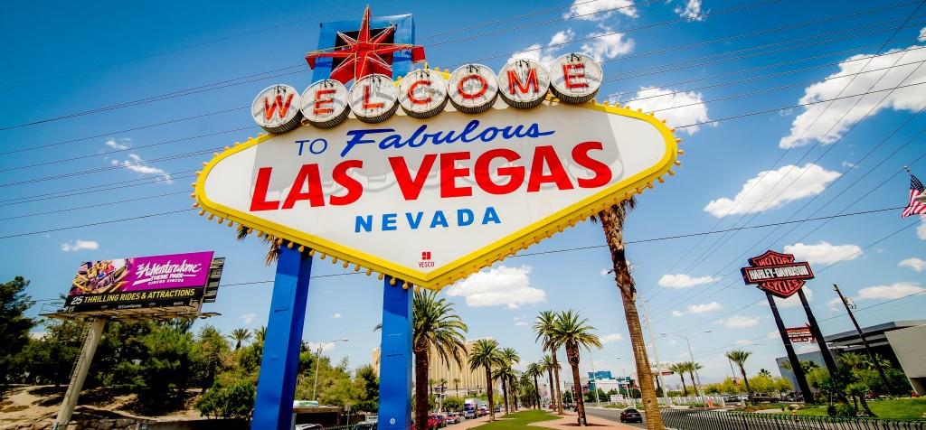 Světoznámá cedule Las Vegas