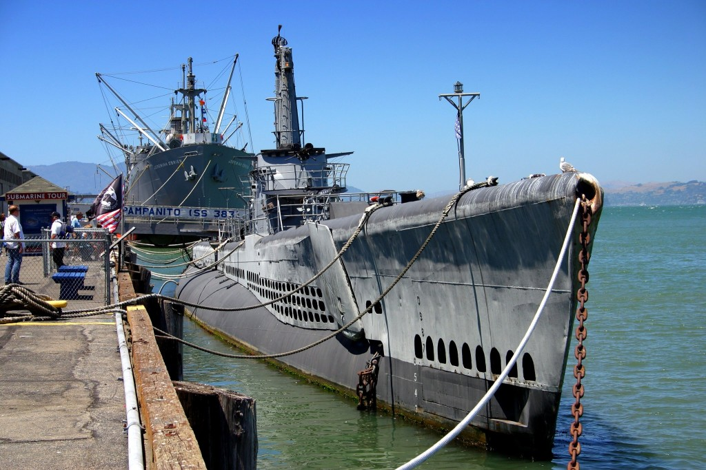 U.S.S. Pampanito najdete na Pier 39