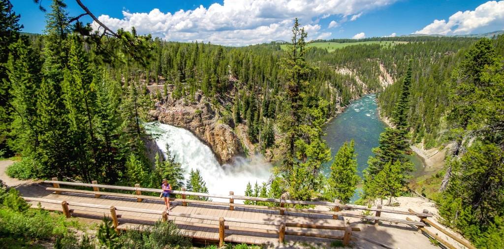Upper Yellowstone Fall