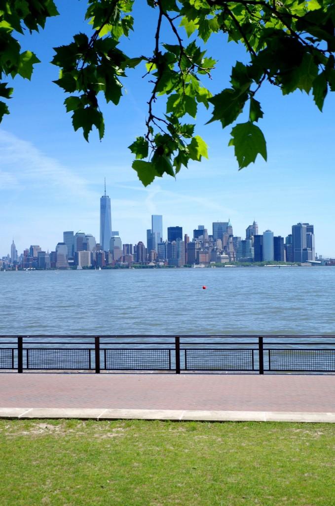Výhled z Liberty islandu