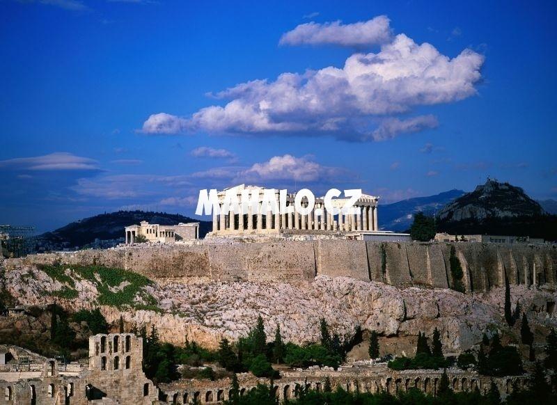 Akropolis Athény řecko Mahalo Cz