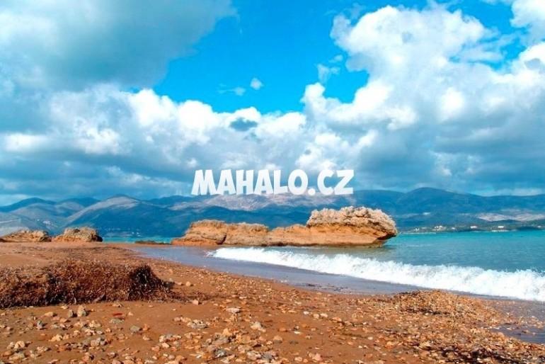 Pláž v letovisku Lepeda
