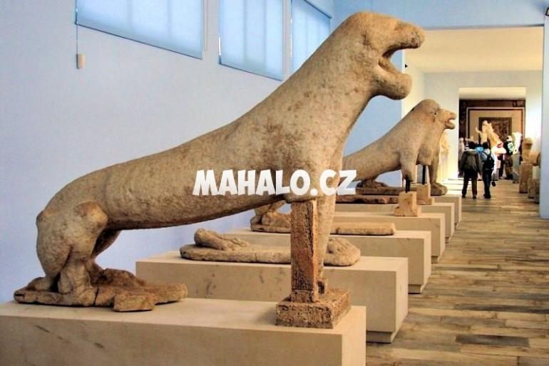 Archeologické muzeum ostrova Delos