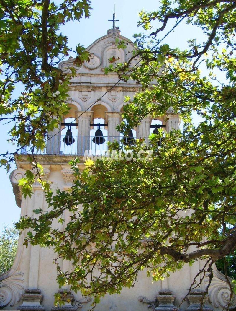 Zvonice kláštera sv. Gerassima