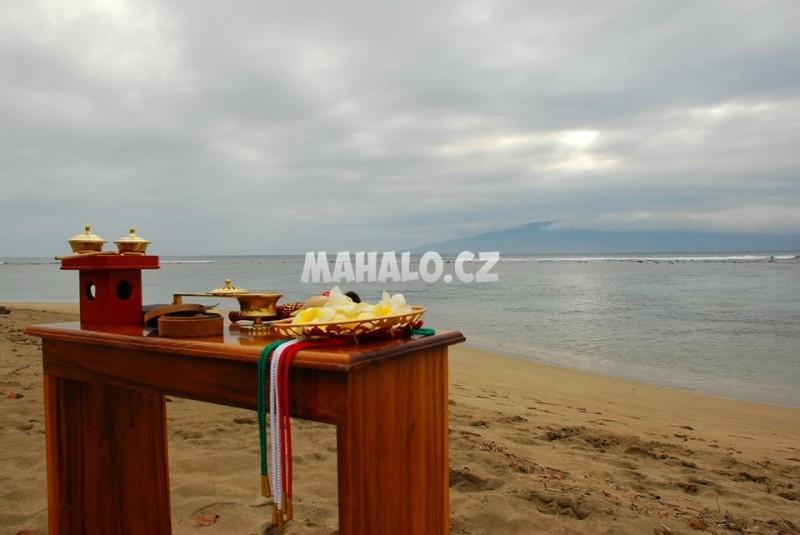 Romanticky obrad na plazi
