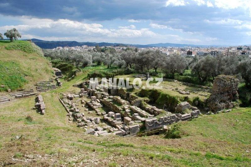 Pozůstatky města Sparta