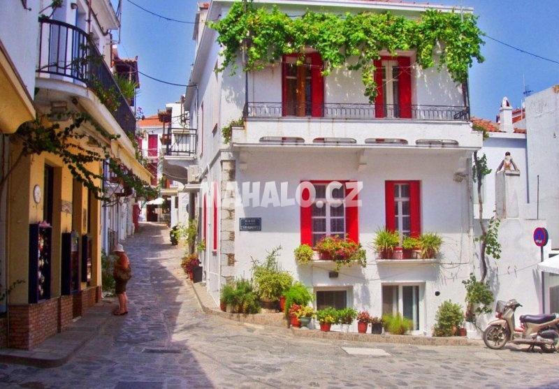 Chora ostrova Skopelos