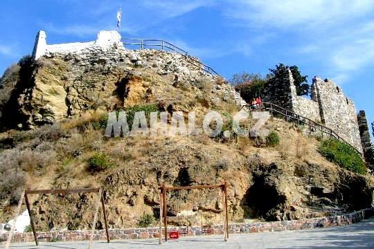 Kastro města Skopelos