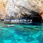 Mořské jeskyně nedaleko Limni Keri