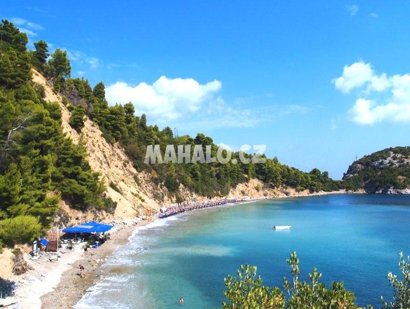 Pláž ve Stafilos