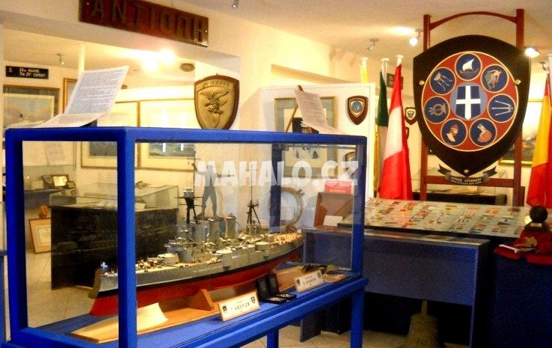 V námořním muzeu