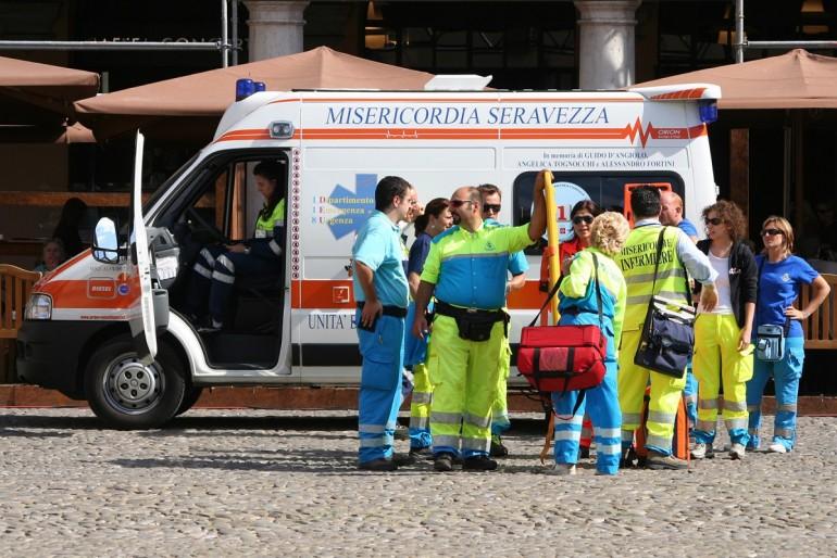 Sanitka v Itálii